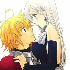 Seven Deadly Sins || Meliodas and Elizabeth