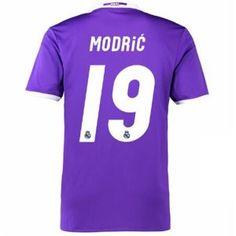 ebd5724df 16-17 Real Madrid Football Shirt Away Cheap MODRIC  19 Replica Jersey  G166