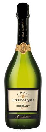 CRÉMANT SIEUR D'ARQUES Extra Brut 75cl - Vin effervescent