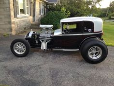 Hot rod old school style