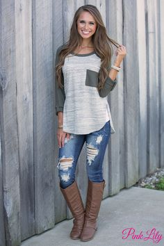 This sweet knit blouse is made for mountain retreats and late night adventures with your BFFs!