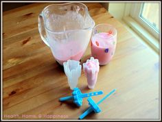 Immunity Smoothie and Popsicles Recipe