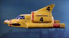 Thunderbird 4 - Thunderbirds - TV show Retro Toys, Vintage Toys, Thunderbirds Are Go, Tony Abbott, Classic Sci Fi, Retro Futuristic, Transporter, Old Tv Shows, Submarines