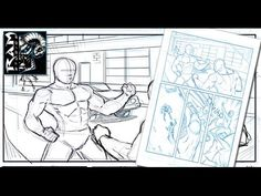 How to Draw Comics - Page Layouts and Panel Design by Robert Marzullo