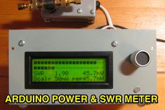 power and swr meter with dual bargraphs and sticky bar using 2x ad8307 . This resource is listed under Technical Reference/Arduino, at Arduino Power and SWR Meter resource page via dxzone.com ham radio guide