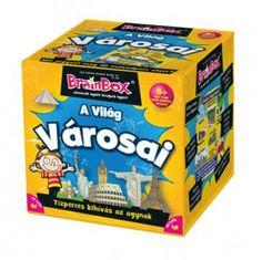 Brainbox - A világ városai - 8 éves kortól - Egyszerbolt Társasjáték Webáruház