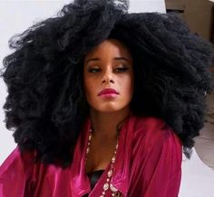 Big Hair don't care. :) To learn how to grow your hair longer click here - http://blackhair.cc/1jSY2ux