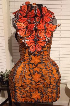 Capitol Couture Effie Trinket McQueen Butterfly Dress