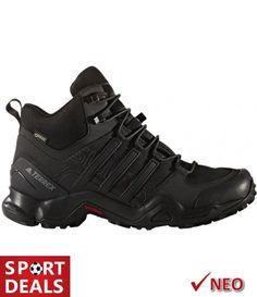 Adidas Herren Trekkingschuhe Terrex Swift R Mid Gtx adidas Textiles, Adidas Performance, Hiking Boots, Gore, High, Super, Overlays, Products, Fashion