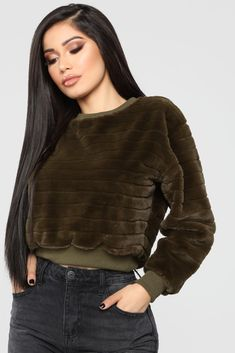 2e884df97c9c4 Played With Your Heart Top - Olive. Fashion Nova Tops ...