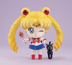 Bishoujo Senshi Sailor Moon - Luna - Sailor Moon - Petit Chara Deluxe! (MegaHouse)