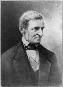 """Ralph Waldo Emerson believed manual labor should be """"a part of the education of every young man."""" (Photo: Library of Congress)"""