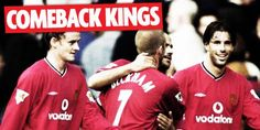 Manchester United The Comeback Kings