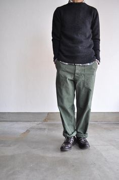 ARAN/アラン Fatigue Pants : un. Fasion, Work Wear, Style Me, Normcore, Street Style, Guys, Womens Fashion, Casual, Clothing