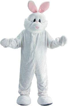 Rabbit Mascot Adult Costume