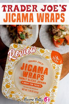 One of my long standing complaints about new products at Trader Joe's is that they tend to be carb heavy. But there is a substantial enough audience for good tasting low carb alternatives that have been all but ignore up until recently. Each wrap is slightly thicker than rice paper on a spring roll. So imagine a double layer of rice paper. | Become Betty @becomebetty #traderjoes #traderjoeswraps #traderjoesfan #traderjoesinsider #traderjoeshaul #traderjoesfinds #traderjoesreview #becomebet Healthy Pork Recipes, Pork Recipes For Dinner, Easy Appetizer Recipes, Wrap Recipes, Beef Recipes, Chicken Recipes, Chinese Tea Eggs Recipe, Lobster Recipes, Seafood Recipes