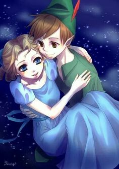 Peter and Wendy, love this!!