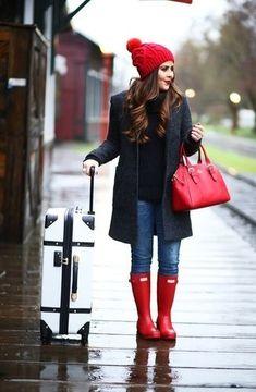 Cómo combinar una bolsa tote roja en 2016 (94 formas) | Moda para Mujer