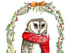 """Check out new work on my @Behance portfolio: """"Christmas illustrations"""" http://be.net/gallery/46165957/Christmas-illustrations"""