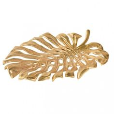 After the plant Monstera the shell was named, and looks particularly noble in the gold color. Preserve fruits or other small items such as jewelry or keys in style.