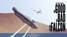 Starwars - The Good The Bad & The Falcon