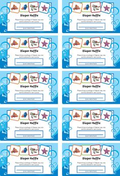 Captivating Finding Nemo Baby Shower Package By Jennya309 On Etsy