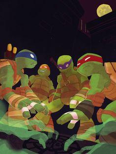 Splinter's Dojo Ninja Turtles Art, Teenage Mutant Ninja Turtles, Ninja Turtles Shredder, Childhood Tv Shows, Tmnt 2012, Batman, Marvel, Geek Stuff, Animation