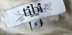 Tibi dresses can sell for over $200 in used condition on eBay.