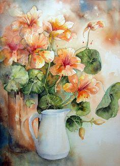 Yvonne Harry Watercolour Florals