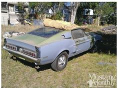 Rare Finds: 1968 Ford Mustang Shelby: The Cemetery Shelby