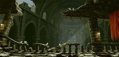 45 cenários animados de jogos de luta 2D - Assuntos Criativos