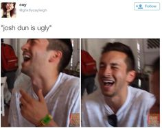 josh dun is the most attractive human being on the planet