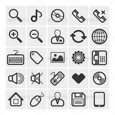 25 Vector Icons