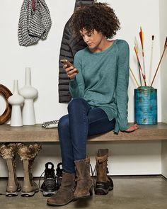 Women's Lux Thermal - Crewneck Sweater | Eddie Bauer