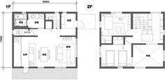 plan, muji, window, house