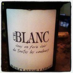 #LeBlanc, il vous en fera voir de toutes les couleurs! Great #Chardonnay