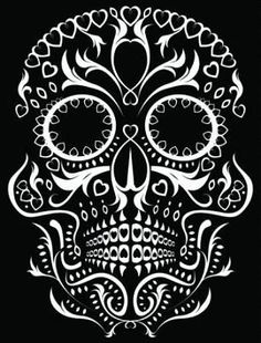Day of the Dead Tattoo Designs | Day of the Dead Skull Tattoo Designs