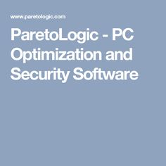 ParetoLogic - PC Optimization and Security Software Software, Wordpress, Step Guide, Animales