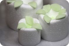 How to make Gum Paste leaves