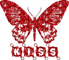 Animated Butterfly Glitter GIFs and Animated Images. Hugs And Kisses Images, Kiss Images, Butterfly Gif, Butterfly Kisses, Butterflies, Types Of Kisses, Random Gif, Glitter Pictures, Gifs