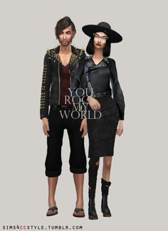 Sims 4, Punk, Style, Fashion, Fashion Styles, Fashion Illustrations, Trendy Fashion, Outfits, Moda