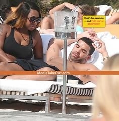 MTO SUPER WORLDWIDE EXCLUSIVE: We've Got Pics Of DRAKE And His New SKRIPPER GIRLFRIEND . .. On Vacation!! (And YES . . . We Got NEKKID PICS Of Drizzy's New BOO) - MediaTakeOut.com™ 2013