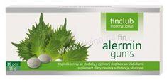 Finclub Alermin gums, výtažek z byliny perily křovité exp Avon