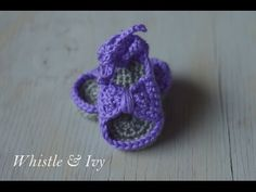 [Free Pattern] 5 Flip Flops, Sandals And Other Cute Crochet Booties For Little Feet - Page 2 of 2 - Knit And Crochet Daily