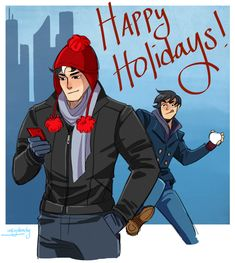 I've had several questions about what Jason looks like from the front in my last comic, so here ya go! Have a wonderful holiday everyone