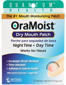 OraMoist, the breakthrough treatment for Dry Mouth.