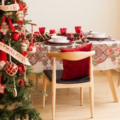 Decoração mesa de Natal da Zara Home