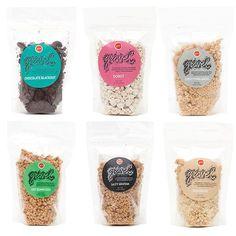 Jenni's Gravel 6-Pack. Flavors: Chocolate Blackout, Donut, Everything Bagel, Hot Benneseed, Salty Graham, Shagbark.