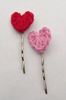 Simple and Cute Crochet Heart Pattern Free & more cute stuff!
