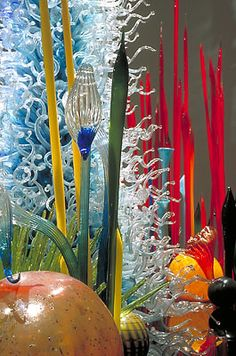 Welcome to Dale Chihuly's World.....
